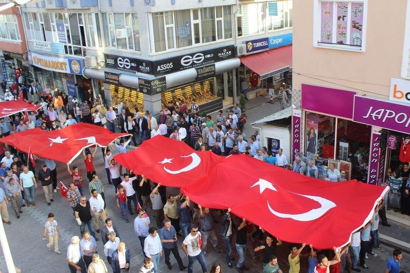 2015  Yılı Samsun Havza Terörü Protesto Yürüyüşü