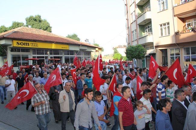 2015 Şehitlere Saygı ve Terörü Protesto Yürüyüşü