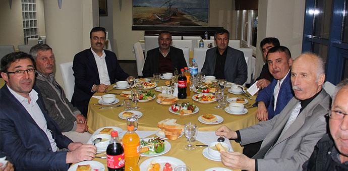 Ahmet Akbaş, Oda Yönetimleri ile Bir Araya Geldi