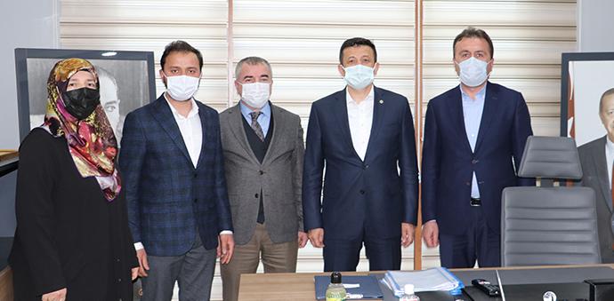 AK Parti Genel Başkan Yardımcısı Dağ'dan Havza Ziyaret