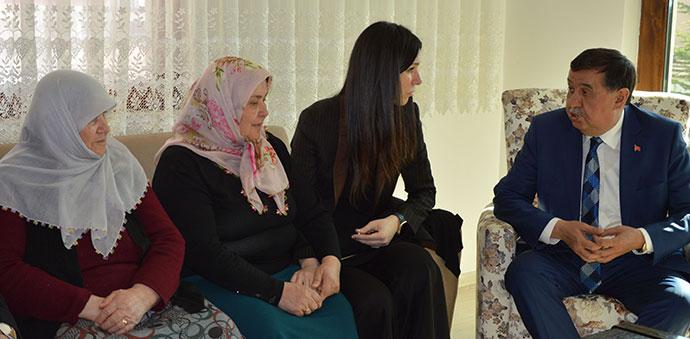 AK Parti Genel Başkan Yardımcısı Karaaslan'dan Taziye Ziyareti