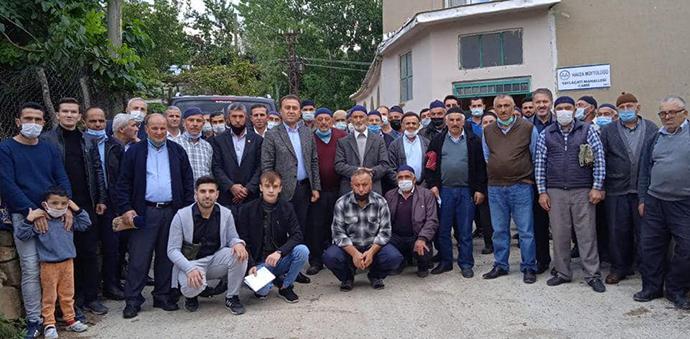 Ak Parti Havza İlçe Başkanı Kayan'dan Mahalle Ziyareti