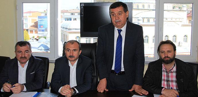 AK Parti Havza İlçe Başkanlığı Danışma Kurulu Toplantısı Gerçekleştirildi