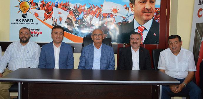 AK Parti Havza İlçe Teşkilatı Bayramlaştı
