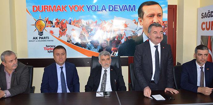 AK Parti Havza İlçe Danışma Kurulu Toplantısı