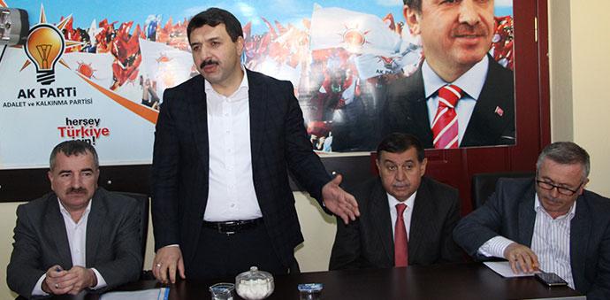 AK Parti Havza İlçe Teşkilatı Danışma Kurulu Toplantısı Yapıldı.