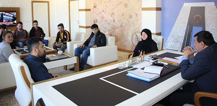 AK Parti Kadın ve Gençlik Kollarından Ziyaret