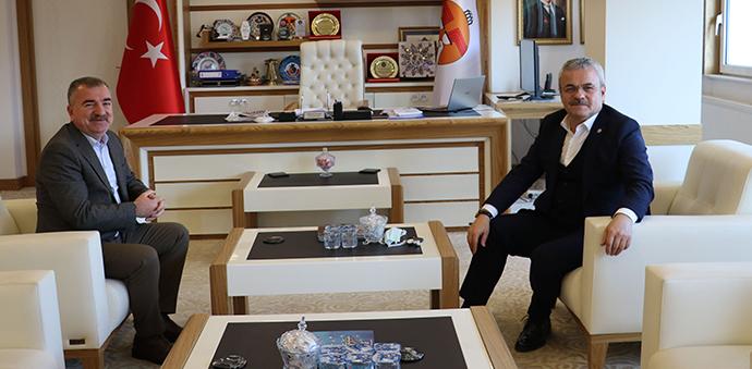 AK Parti Karabük Milletvekili Ünal'dan Başkan Özdemir'e ziyaret