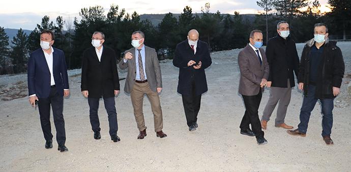 Ak Parti Samsun Milletvekili Orhan Kırcalı'nın Havza Ziyareti
