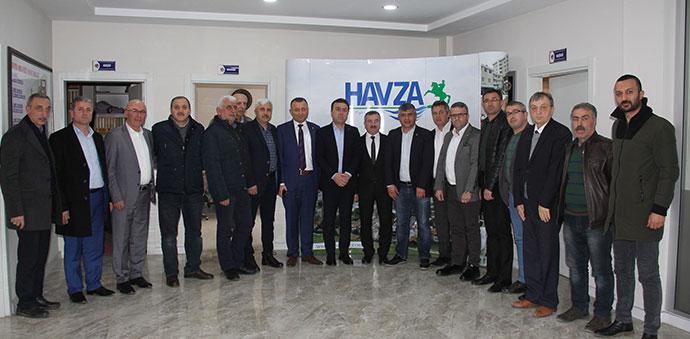 Ak Parti ve MHP'den HASTOP'a Ziyaret
