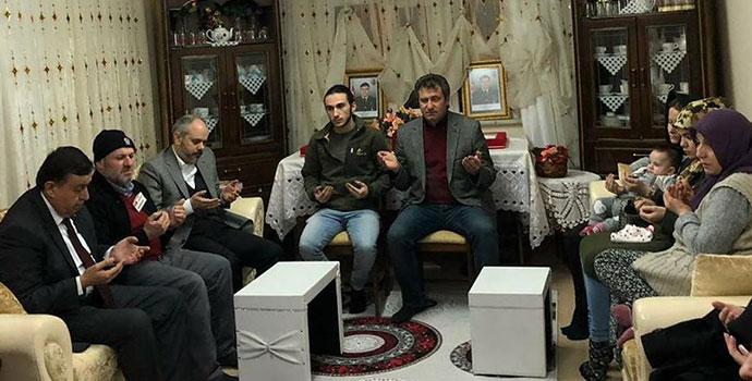 Akif Çağatay Kılıç Eşi İle Afrin Şehitlerinin Ailelerini Ziyaret Etti