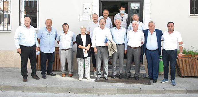 Amasya Pancar Ekicileri Kooperatifi Başkanı Saatcı'den Havza'da STK ve Mahalle Ziyareti