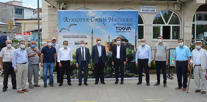 Ayasofya'nın İbadete Açılması Sevinçle Karşılandı