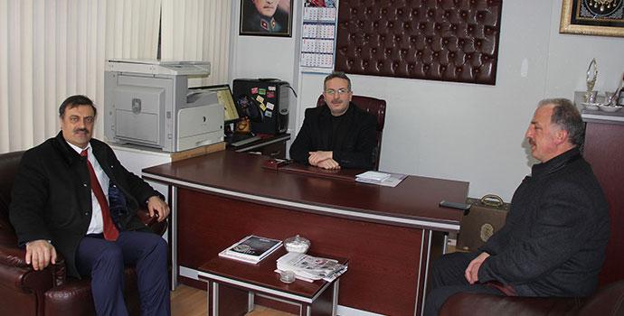 Başkan Adayı Ahmet Akbaş'tan Gazetemize Ziyaret