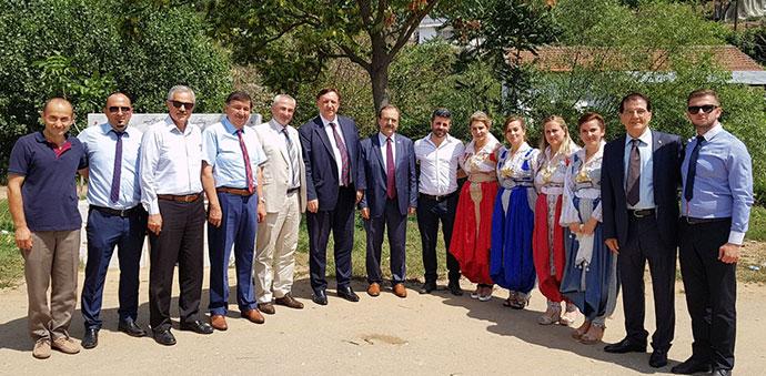 Başkan İkiz Makedonya'da Yörüklerle Buluştu