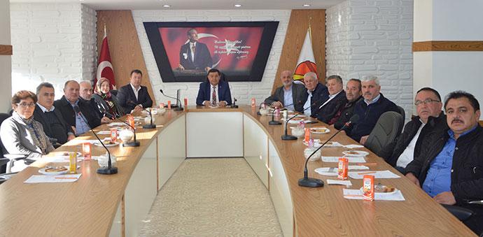 Başkan İkiz, Son Meclis Toplantısını Yaptı