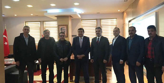 Başkan İkiz'den Kardeş Belediyeye Ziyaret