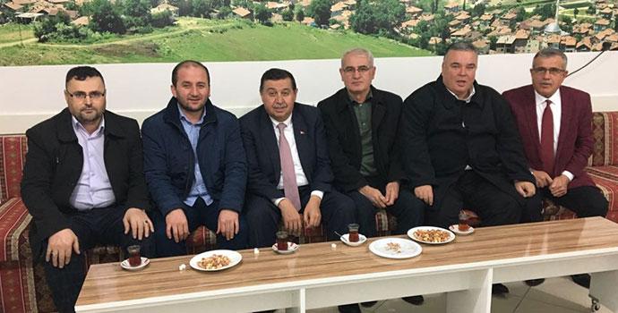 Başkan İkiz'den  STK Ziyareti