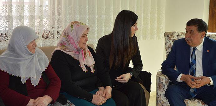 Başkan İkiz'e Taziye Ziyaretleri