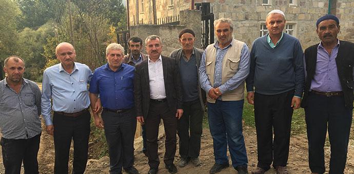 Başkan Özdemir Gidirli ve Dereköy Mahallerini Ziyaret Etti