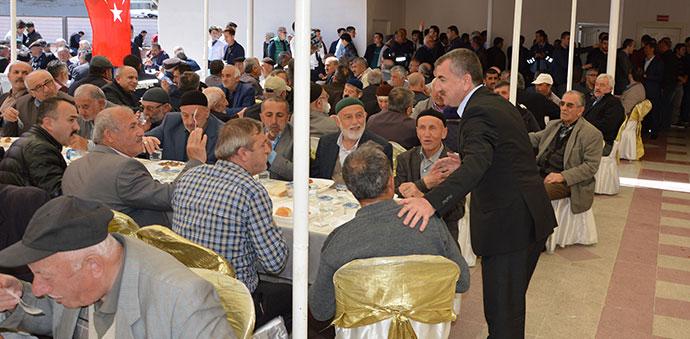 Başkan Özdemir, Havzalıların Katılımı İle Mevlit Okuttu