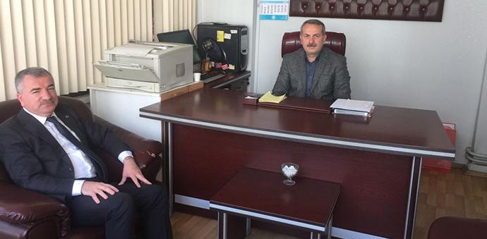 Başkan Özdemir'den Taziye Ziyareti
