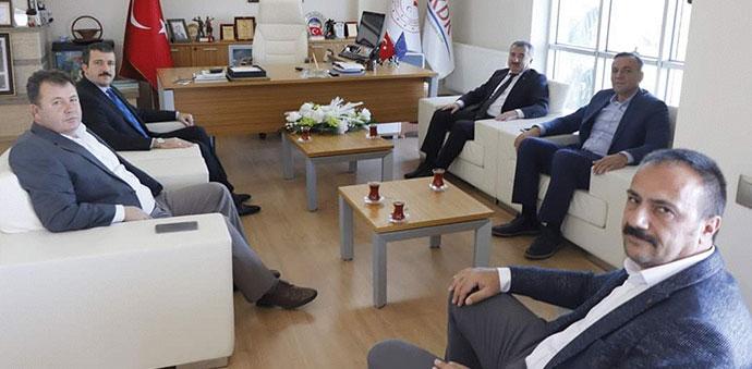 Başkan Özdemir'den TKDK Samsun İl Koordinatörü Turan'a Ziyaret