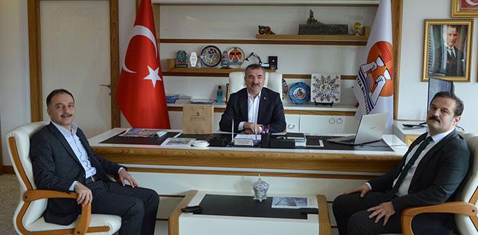 Başkan Özdemir'e İl Kültür ve Turizmden Ziyaret