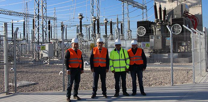 Başkan Rüzgâr Enerji Santralini Ziyaret Etti