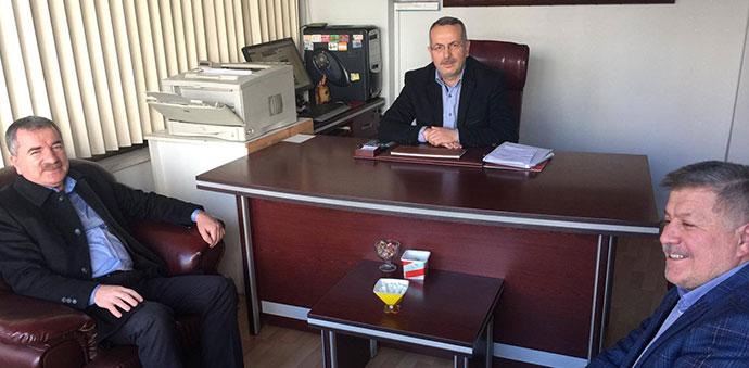 Başkan Sebahattin Özdemir'den Ziyaret