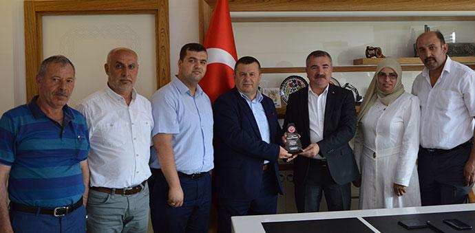 Başkan Sebahattin Özdemir'e Ziyaret