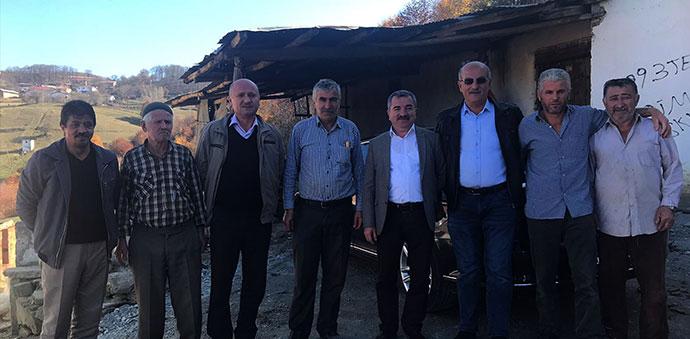 Belediye Başkanı Özdemir'den Mahalle Ziyareti