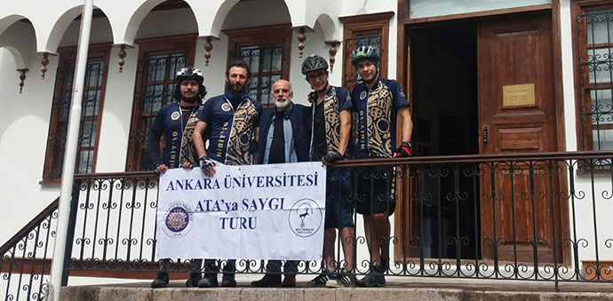 Bisiklet ile Samsun'dan Ankara'ya