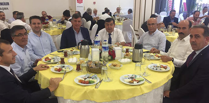 Bursa Havzalılar Derneği Kahvaltıda Bir Araya Geldi