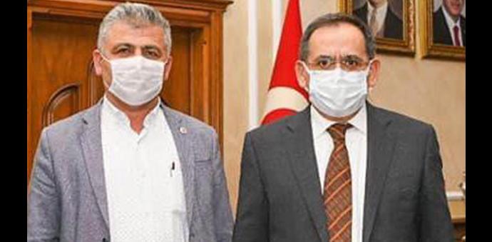 Çakıralan Muhtarından Samsun Büyükşehir Belediyesine Teşekkür Ziyareti
