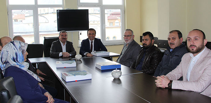Canik Belediye Başkanı Osman Genç Havza'da