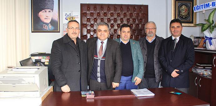 CHP Atakum İlçe Örgütünden Gazetemize Ziyaret
