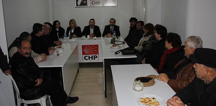 CHP Havza İlçe Başkanlığı İstişare Toplantısı