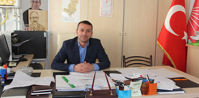 CHP Havza'da Delege Seçimleri Yapıldı