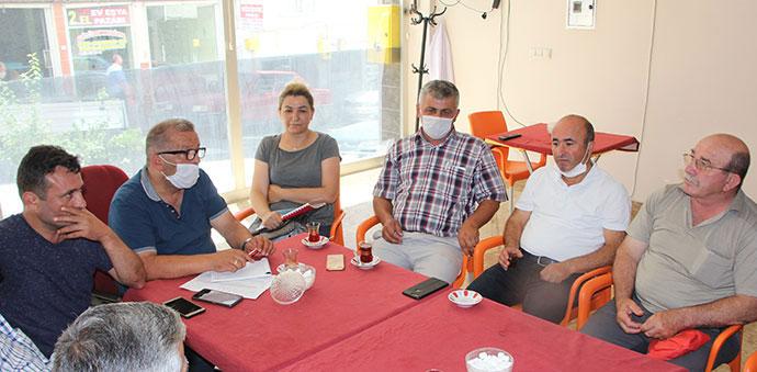 CHP İlçe Yönetimi Muhtarlarla Buluştu