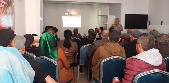 CHP Sandık Güvenliği Eğitimlerine Başladı
