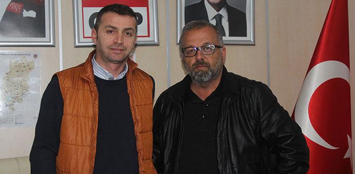 CHP'de Havza İlçe Başkanlığına Halil Alkan Aday