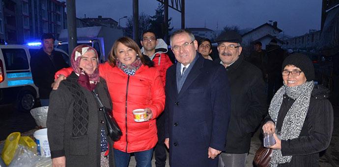 CHP'den Pazarcı Esnafına Sabah Çorbası