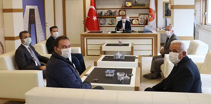 DDY Sivas Bölge Müdürü Karabey'den Havza Belediye Başkanı Özdemir'e Ziyaret