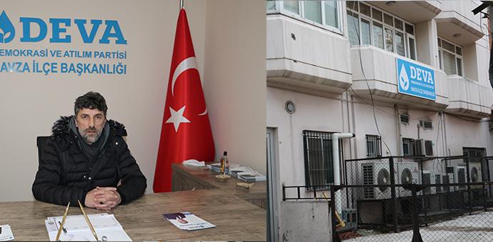 Deva Partisi Havza İlçe Binası Hizmete Başladı