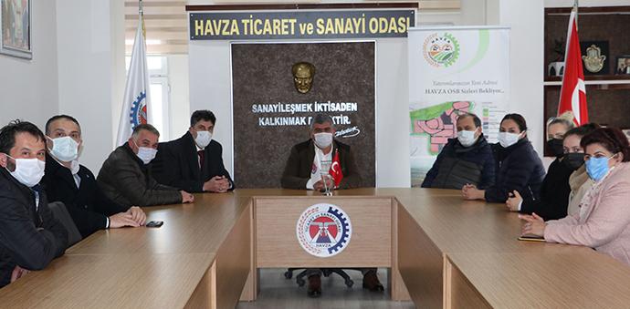 DEVA Partisi İl Başkanı Türk'ten Havza Ziyareti