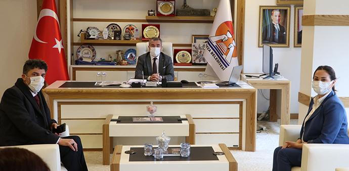 DEVA Partisinden Havza Belediye Başkanı Özdemir'e Ziyaret