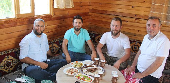 Dünyaca Ünlü Ödüllü Şef Havza'da Tiridi İnceledi