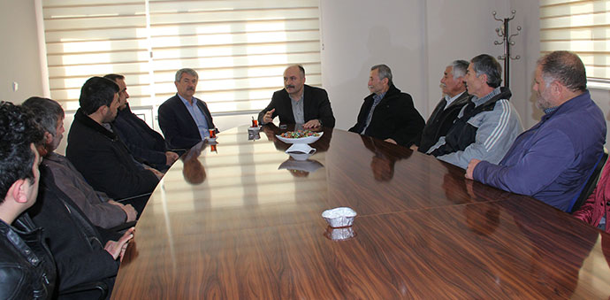 Erhan Usta Havza'da Bir Dizi Ziyaret Düzenledi