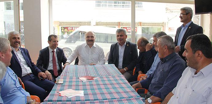 Erhan Usta, Muhtarlar ile Bir Araya Geldi